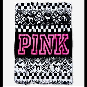 Victoria Secret Pink Blanket! 50x60